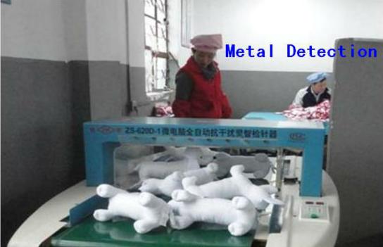 Prüfung auf Metallrückstände