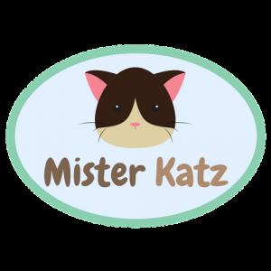 Das Logo von Mister Katz