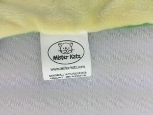 """Das Näh-Etikett von """"Mister Katz"""""""