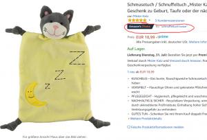 Mister Katz ist Amazon's Choice