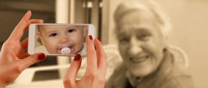 Babyfoto Erinnerung