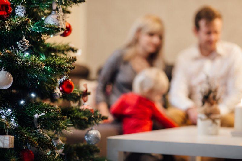 Weihnachten mit dem Baby