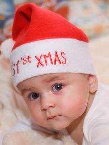 Babys erste Weihnachten